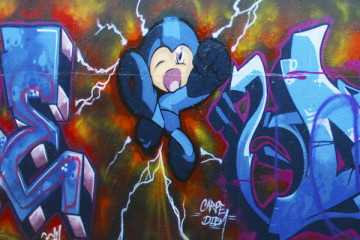 Mega Man Graffiti