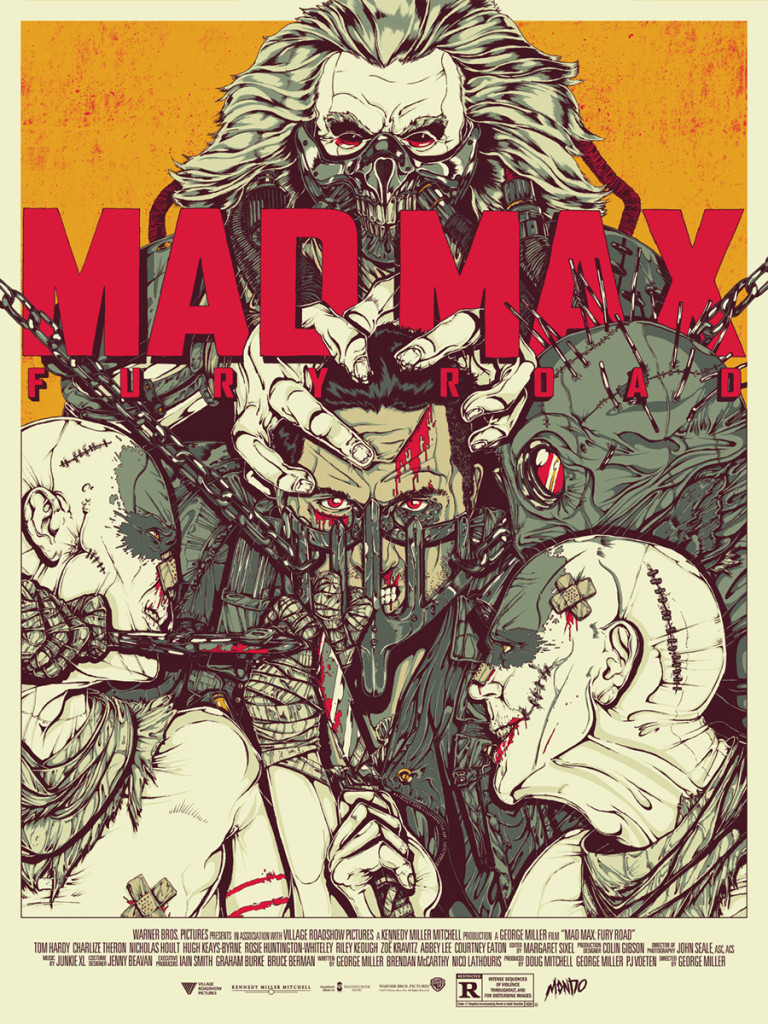 Mondotees.com Mad Max Poster by Boneface