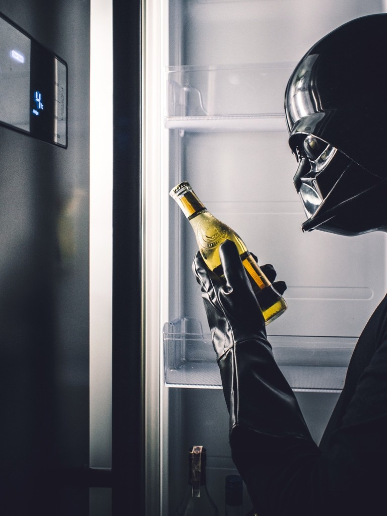 Darth Vader Beer Fridge