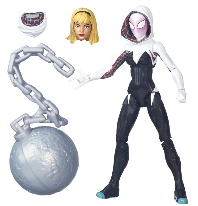 marvel legends spider gwen 2